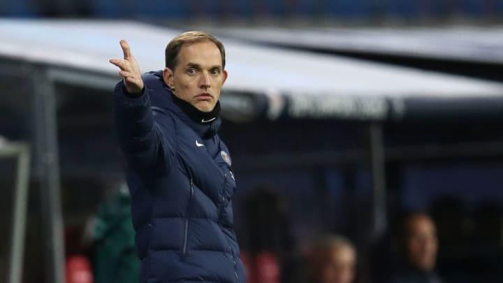 Tuchel an der Seitenlinie als PSG-Trainer