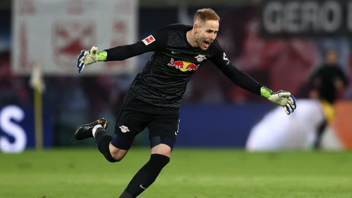 """Peter Gulacsi (30) hat die """"weißeste Weste"""" der Bundesliga"""