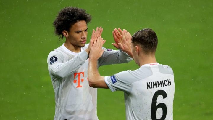 Sané und Kimmich stehen zur Wahl beim Bundesliga POTM September
