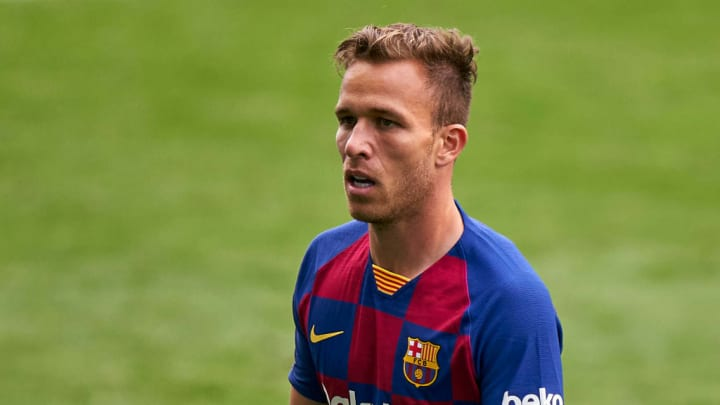 Arthur Melo hasn't been part of Quique Setien's plans since his move to Juve was confirmed
