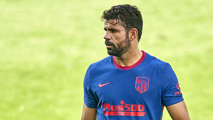 Diego Costa wanted Atletico Madrid to release him
