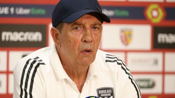 Jean-Louis Gasset est désormais à la tête des Girondins de Bordeaux.