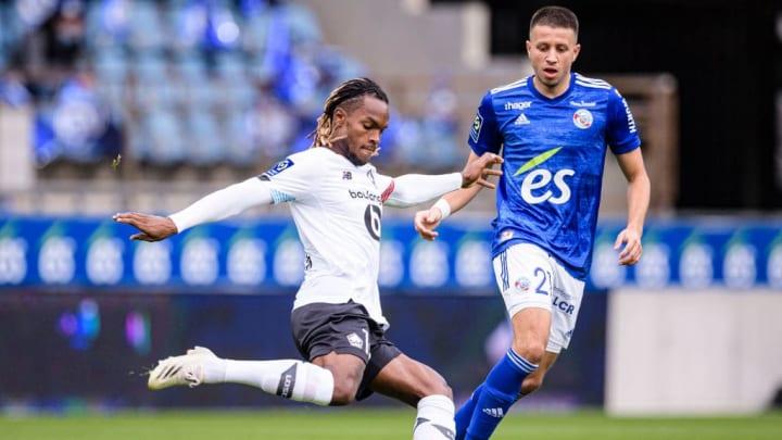 Renato sanchez a été l'un des principaux artisans de la victoire de Lille face à Strasbourg