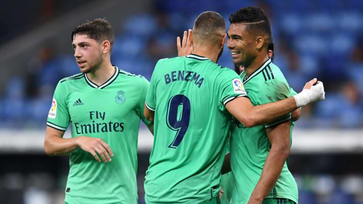 Casemiro converted Karim Benzema's delicious backheel