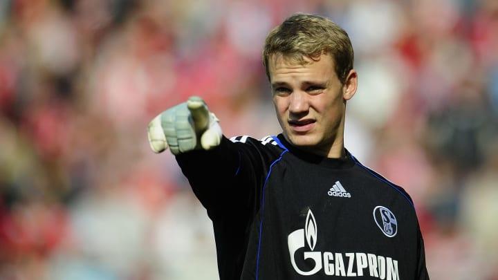 Neuer já esteve no Schalke antes de fazer história no Bayern de Munique.