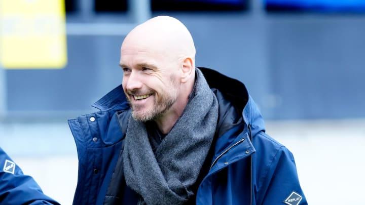 Erik ten Hag has committed his future to Ajax