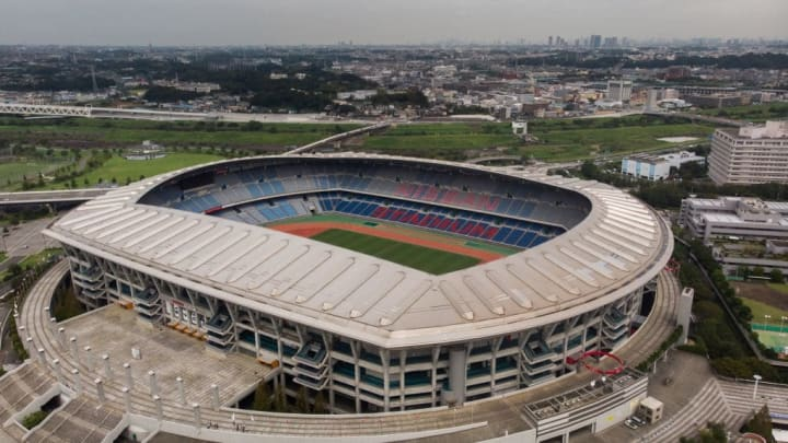 The gold medal match is being played in Yokohama, which hosted the 2002 World Cup final