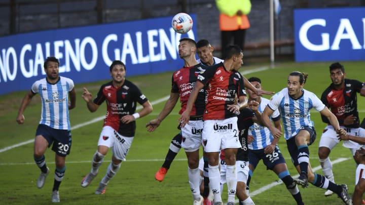 Racing Club v Colon - Copa de la Liga Profesional 2021 - La final se jugará con dientes apretados.