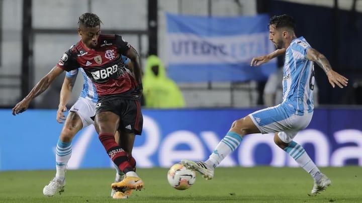Bruno Henrique, Fabricio Dominguez