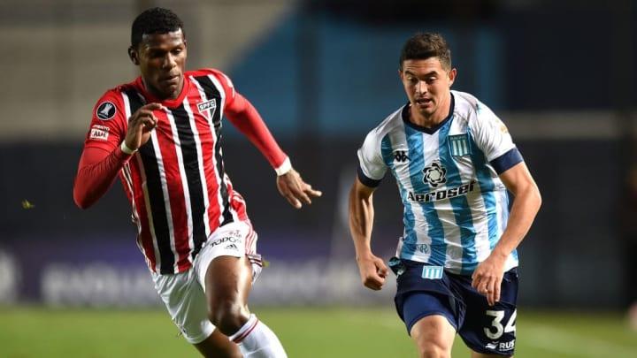 Maximiliano Lovera Robert Arboleda São Paulo Copa América