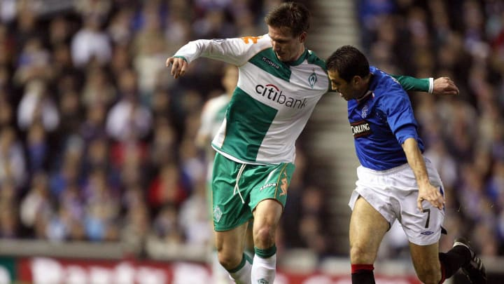 Rangers' Belgian forward Thomas Buffel (