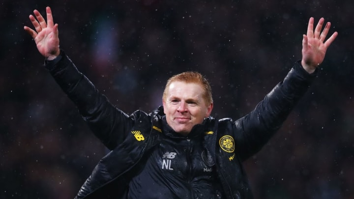 Neil Lennon will hope to win Celtic's tenth league title in a row
