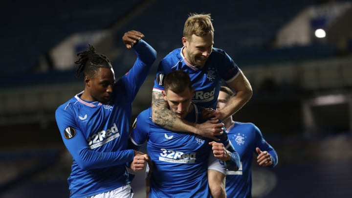 Rangers are going strong in Europe