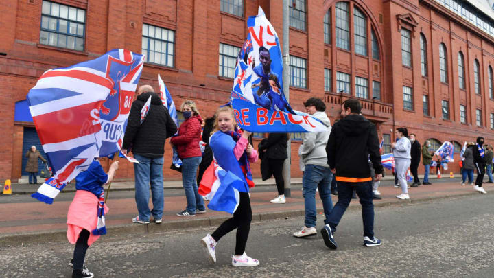 It was great to hear the fans in Ibrox
