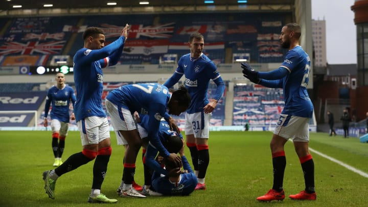 Rangers are running away with it at the top of the SPL