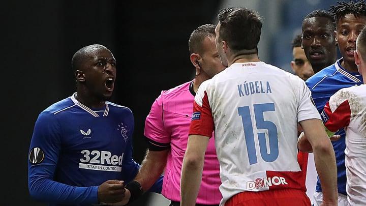 Kudela nella gara incriminata contro i Rangers