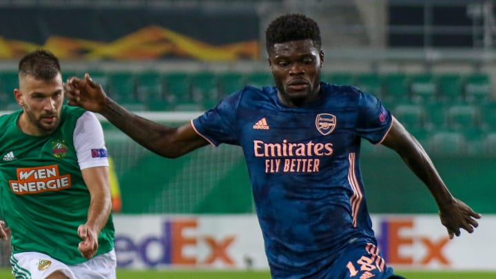 Thomas Partey looks to be a key player in Arsenal's spine