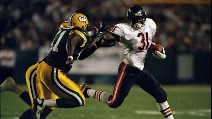 Rashaan Salaam was a notorious first-round flop by the Bears.