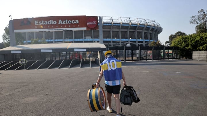 Reactions Over Death Of Argentine Football Legend Diego Maradona in Mexico