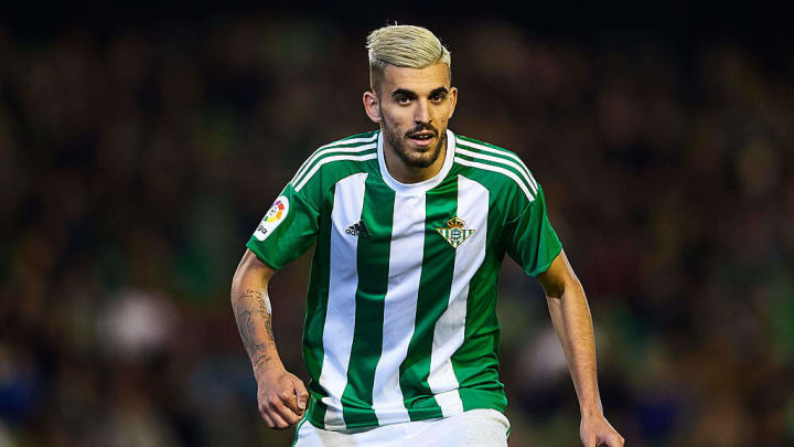 A younger Ceballos turning out for Real Betis