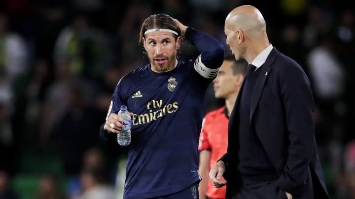 Sergio Ramos, Zinedine Zidane