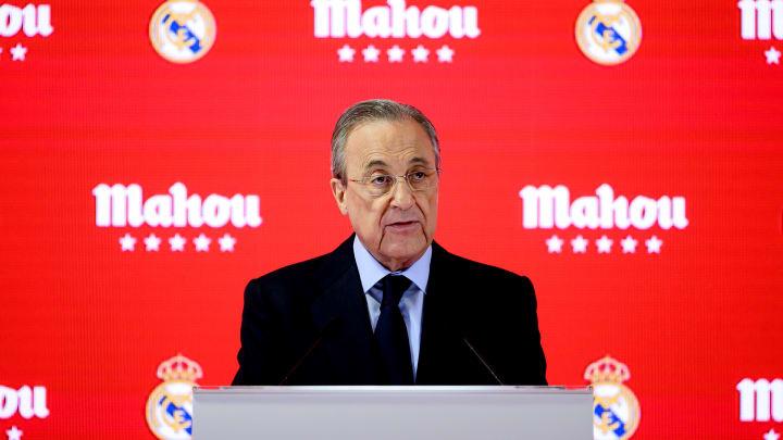 Hat bei allen (höchst umstrittenen) Zukunftsplänen auch den Blick für die Gegenwart nicht verloren: Real-Präsident Florentino Pérez