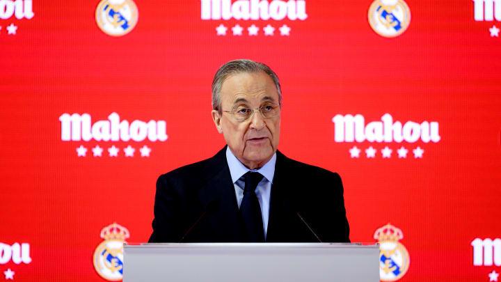 Sieht sich mit vor Jahren getätigten Aussagen konfrontiert: Real-Boss Florentino Pérez