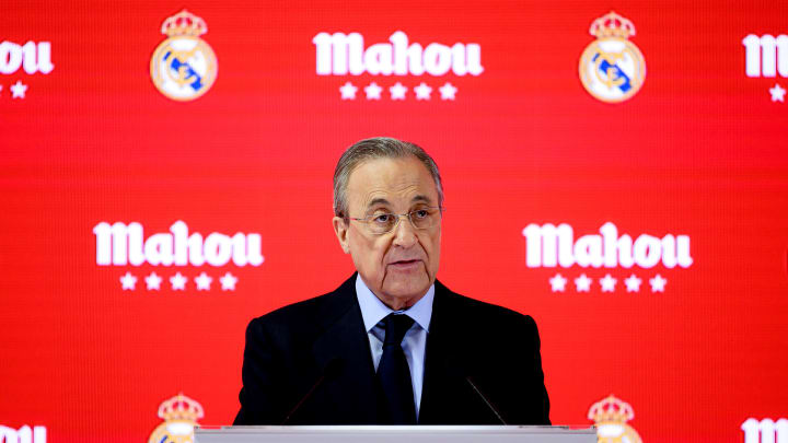 Real Madrid president Florentino Perez has tested negative for coronavirus