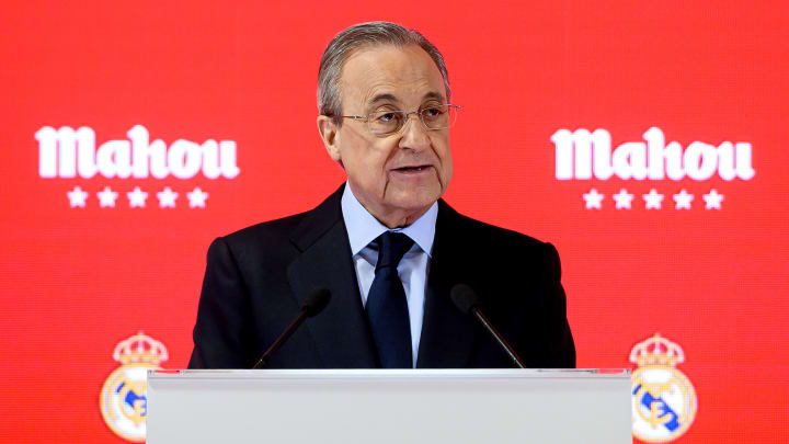 Florentino Perez is refusing to back down in his defence of the European Super League