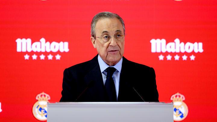 Florentino Pérez é o 'cabeça' do projeto da Superliga Europeia
