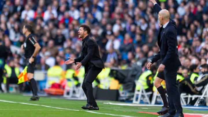 Le derby madrilène s'est également disputé en finale de la Ligue des Champions.