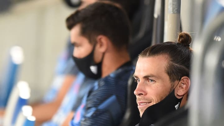 Bale was an unused substitute during Real Madrid's 2-0 win over Alaves