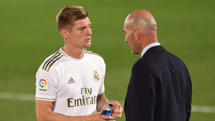 When I Retire, I Will Say That I Coached Toni Kroos,' Claims Real Madrid  Boss Zinedine Zidane