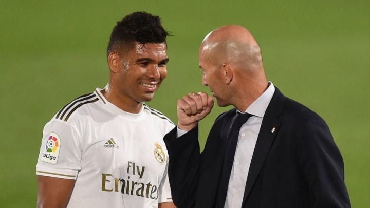 Carlos Casimiro, Zinedine Zidane