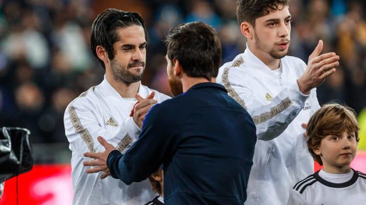 Isco Alarcon, Federico Valverde, Lionel Messi
