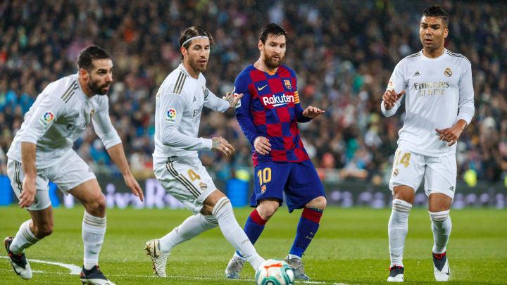 Carlos Henrique Casemiro, Sergio Ramos, Daniel Carvajal, Lionel Messi