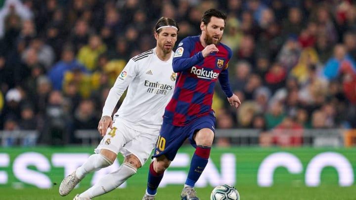 Lionel Messi, Sergio Ramos, Real Madrid, Barcelona