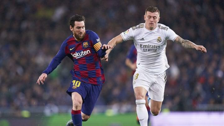 Lionel Messi, Toni Kroos