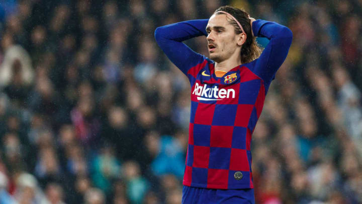 Griezmann has not been his lethal self in front of goal for Barcelona