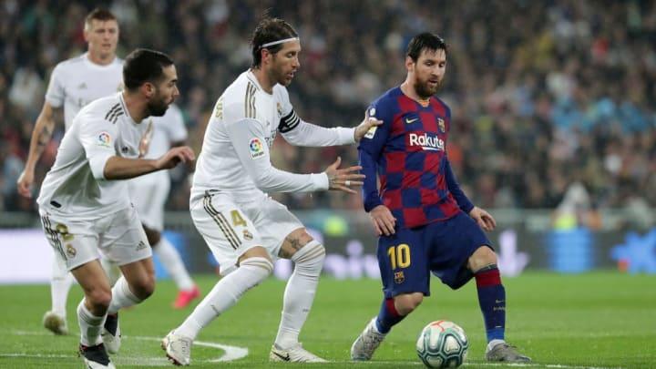 Lionel Messi, Sergio Ramos, Daniel Carvajal