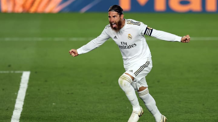 Ramos scored his fourth goal in six games