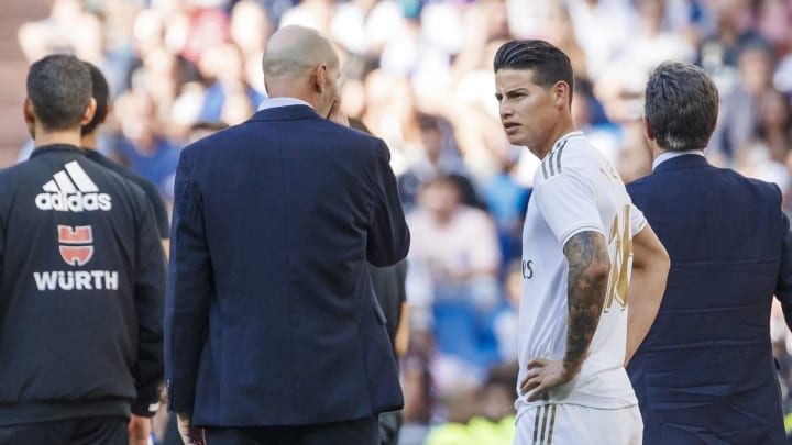 James Rodriguez, Zinedine Zidane