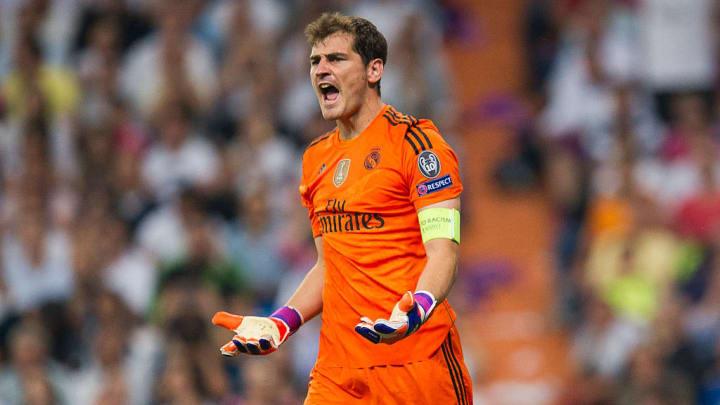 Iker Casillas Real Madrid Espanha