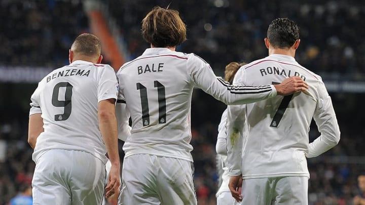 Gareth Bale, Cristiano Ronaldo, Karim Benzema