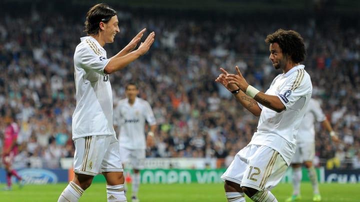 Mesut Ozil, Marcelo