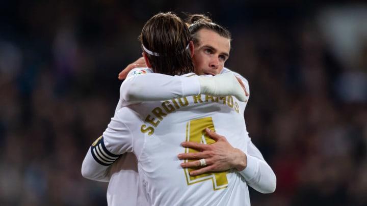 Sergio Ramos, Gareth Bale