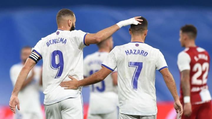 Karim Benzema, Eden Hazard