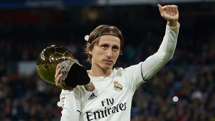 Troféu de Luka Modrić, em 2018, não pode ficar de fora desta lista