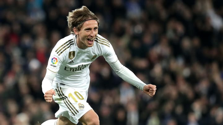 Luka Modric est le meilleur milieu de terrain de la décennie (2011-2020).