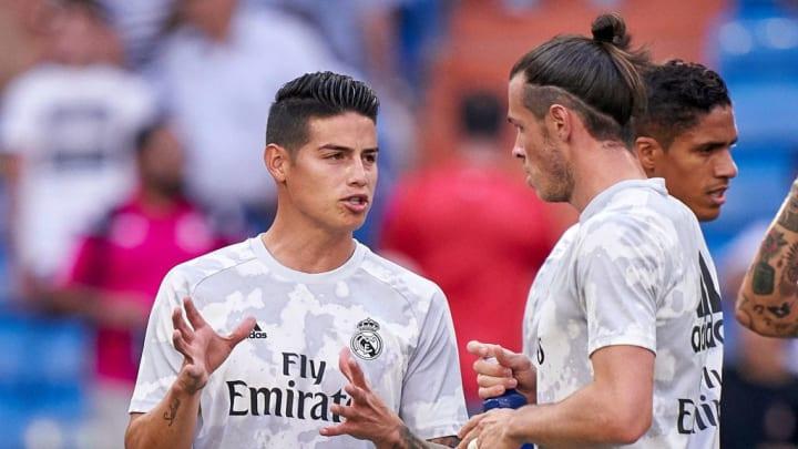 Gareth Bale, James Rodriguez